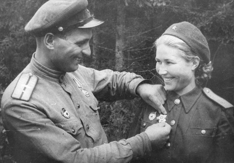 Супруги-танкисты Бойко. ВОВ 1941-1945, Женщины на войне, танк, танкисты.