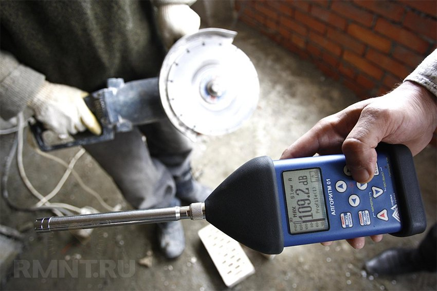 Измерить шум домашних условиях