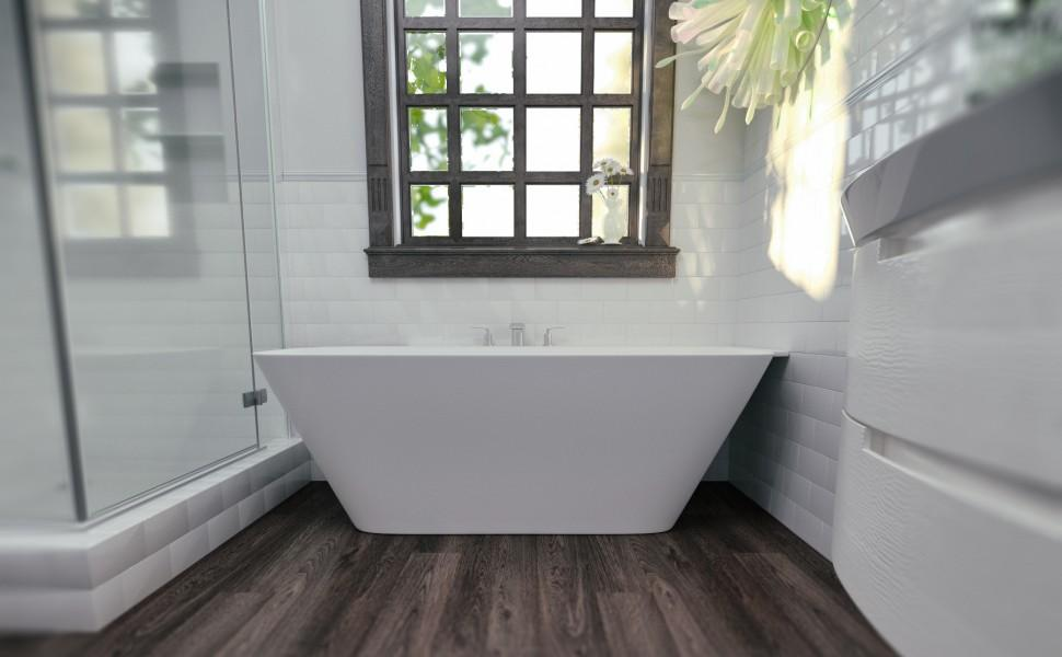 как выбрать цвет плитки для ванной комнаты белой