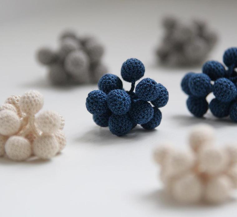 На крючке у природы: лаконичные украшения Miho Fujita