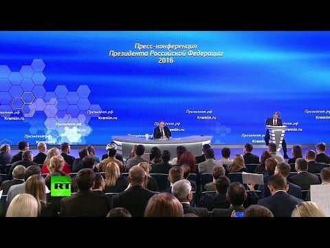 Путин про администрацию Обамы: Они проиграли по всем фронтам