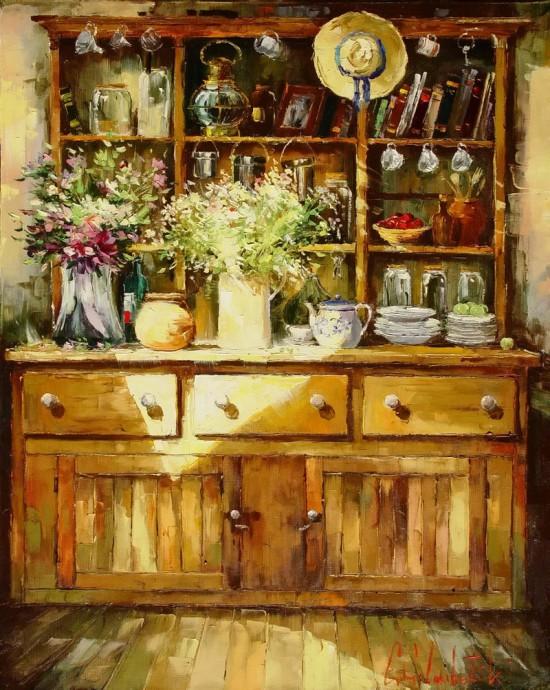 пейзажи и натюрморты Gleb Goloubetski - 09