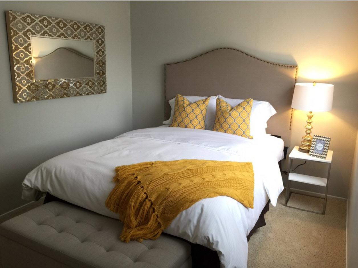 Уютный интерьер спальни