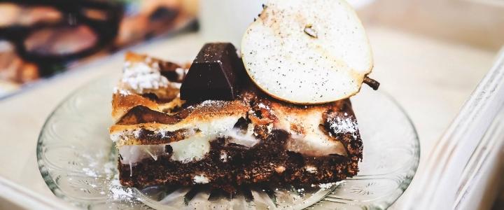 Пирог с грушей в духовке
