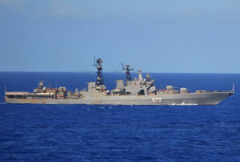 Российский флот возвращается к советской практике сдерживания противника