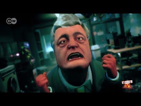 """Напали москали-марсиане из России! Зеленые-зеленые и вежливые!"""" – в Сети появился смешной ролик о Порошенко (ВИДЕО)"""