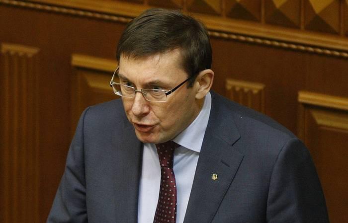 """Генпрокурор Украины увидел в Донбассе """"имитацию"""" вместо оборонительных сооружений"""