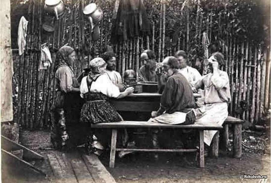Что ели в русской деревне 100 лет назад