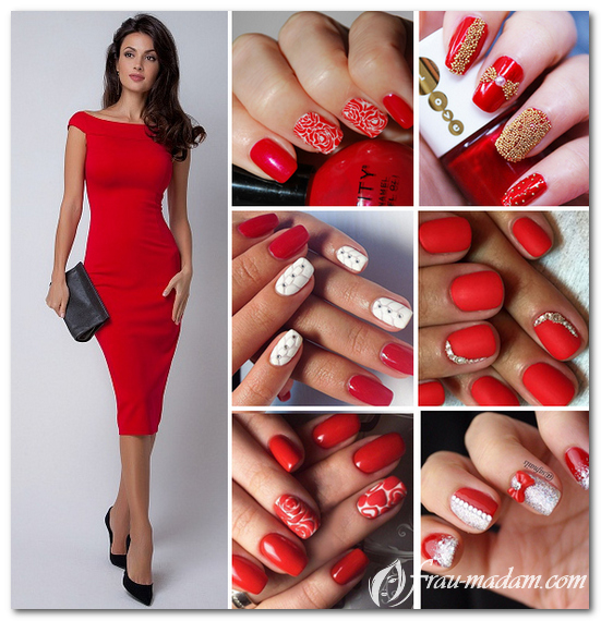 Какой цвет и дизайн ногтей п…