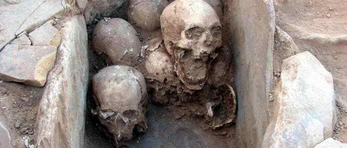 Судя по последним находкам, у древних покойников была очень беспокойная жизнь