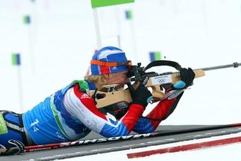 Биатлонист Антон Шипулин завоевал бронзовую медаль на Кубке мира
