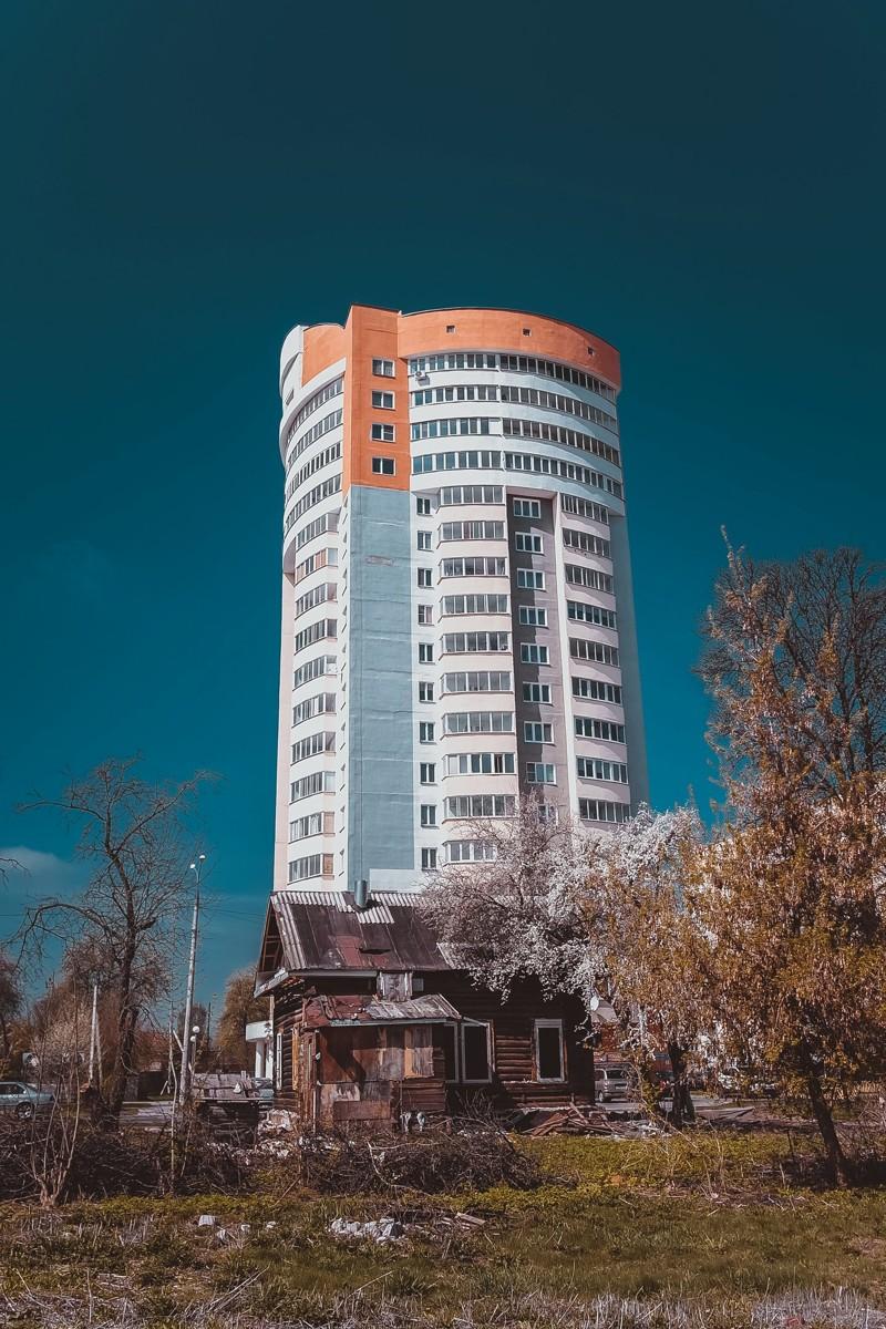 Городские контрасты на просторах бывшего СССР