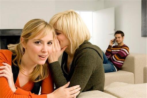 А вы жалуетесь подругам на мужа?
