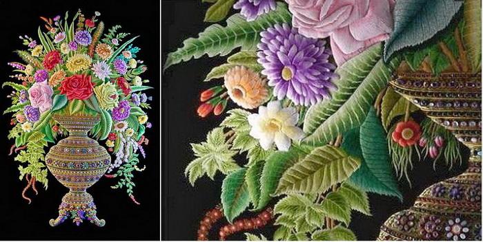 Зардози - вечное искусство индийской вышивки