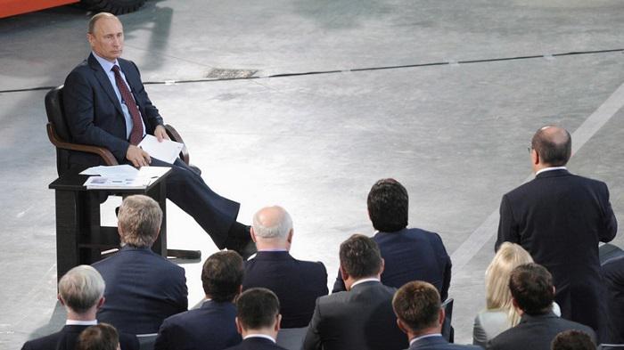 """Большая пресс-конференция Путина: """"Зачем вы идете на выборы?"""""""