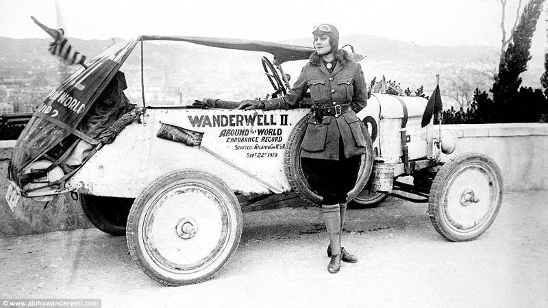 Алоха Уандервелл - Индиана Джонс в женском обличии, объехавшая мир на Ford Model T
