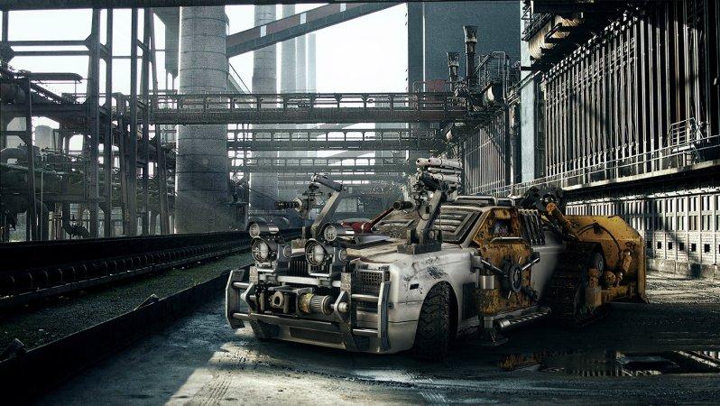 Суперкары переоборудованные для зомби-апокалипсиса