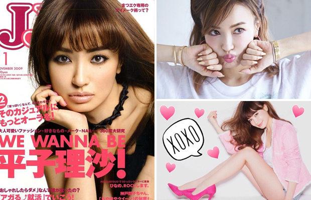 Модель из Японии Риса Хирако в свои 45 лет выглядит на 20