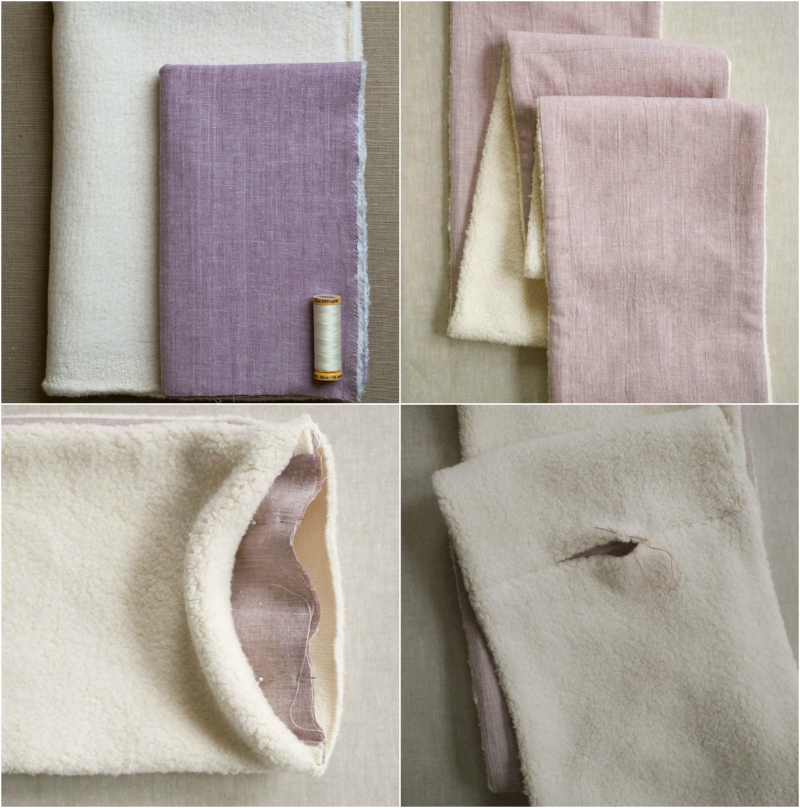 Как сшить снуд - уроки кройки и шитья Как сшить шарф снуд из ткани
