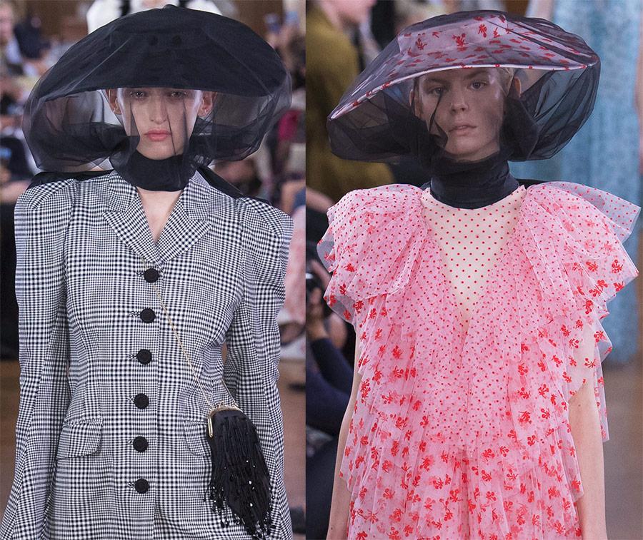 Шляпы с вуалью в 2019-ом