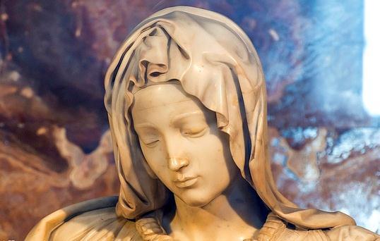 Единственная работа Микеланджело, которую он подписал