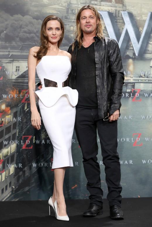 Первое совместное заявление Анджелины Джоли и Брэда Питта после развода