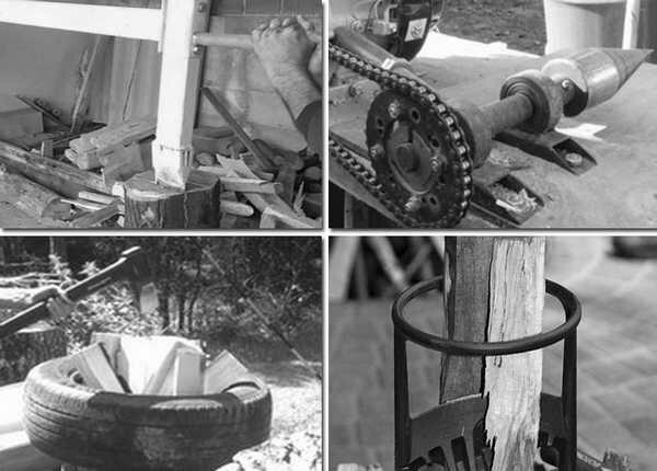 Топ приспособлений для колки дров