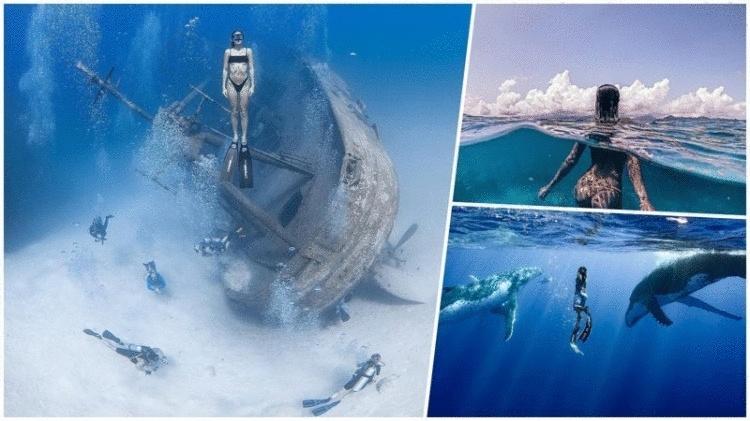 Удивительные фотографии, которые были сняты под водой