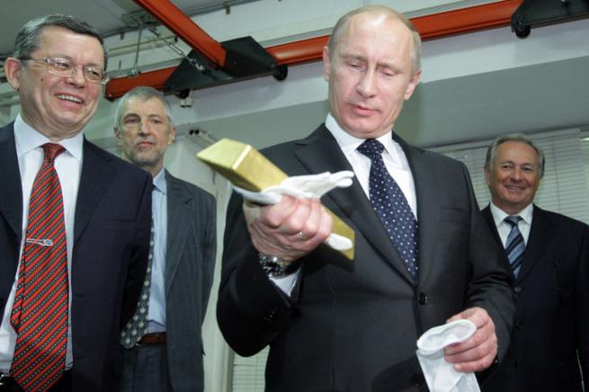 Почему Россия и Китай сейчас закупают золото, причём, в больших объёмах
