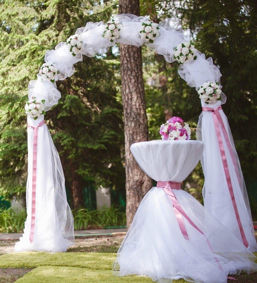 Варианты арки для свадьбы своими руками 20