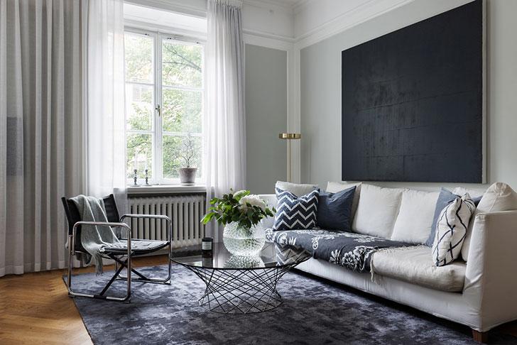 Прекрасная скандинавская квартира в нейтральных тонах