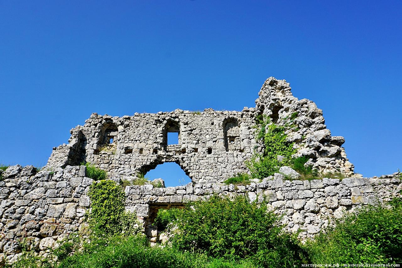 Крымский Мангуп - столица княжества Феодоро