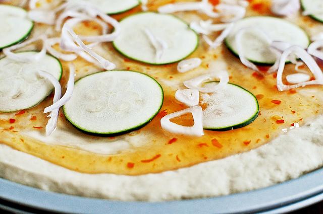 Пицца по-тайски