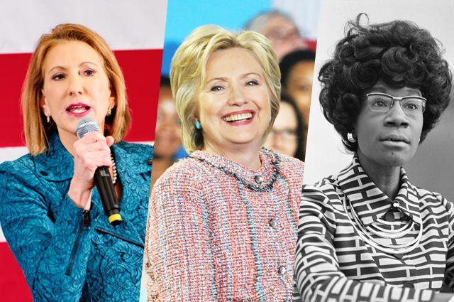 Хиллари Клинтон и ещё 8 женщин, претендовавших на пост президента США