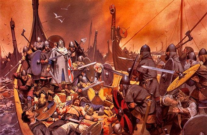 О проникновении некоторых украшений скандинавского происхождения на территорию Древней Руси