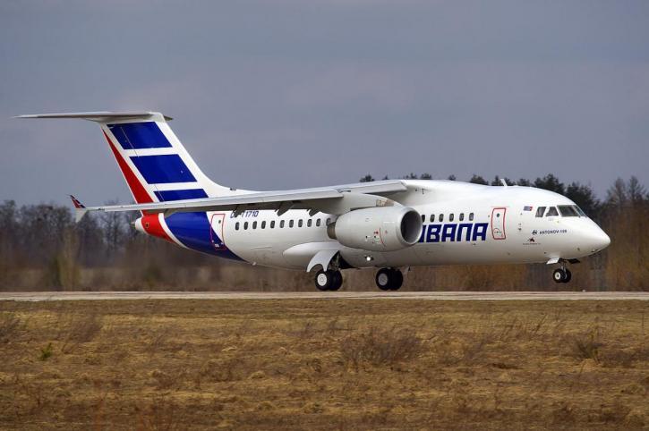 Воронежский авиазавод восстановит 5 Ан-158 для Кубы