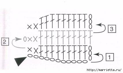 Цветочек - брошка крючком для украшения одежды (6) (427x256, 53Kb)
