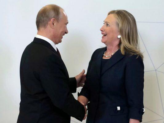 Путин осадил зарвавшуюся Клинтон: «Мы тоже могли Вас сравнить с кое-кем»