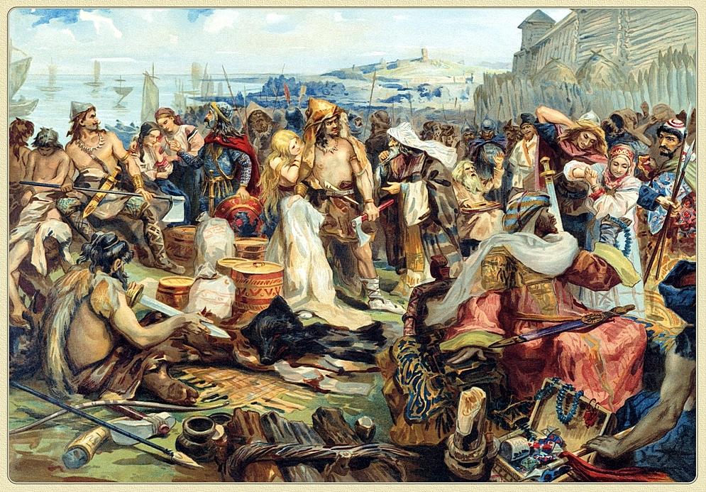 Сказания мусульманских писателей о славянах и русских