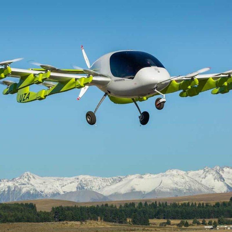 В Новой Зеландии испытывают беспилотное воздушное такси