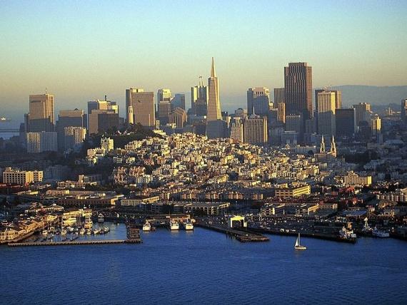 13 лучших городов мира с высоты птичьего полета