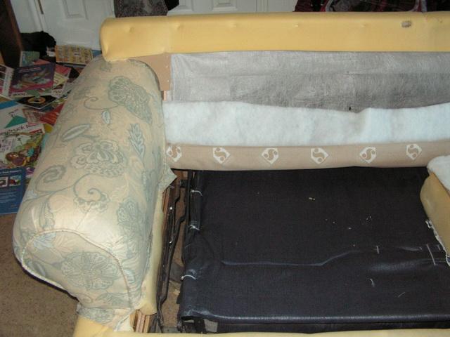 Как можно самому перетянуть диван