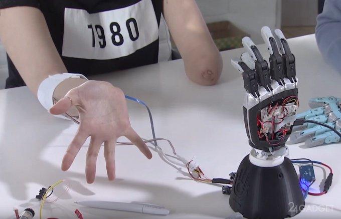 Российский инженер разработал бионическую руку-протез