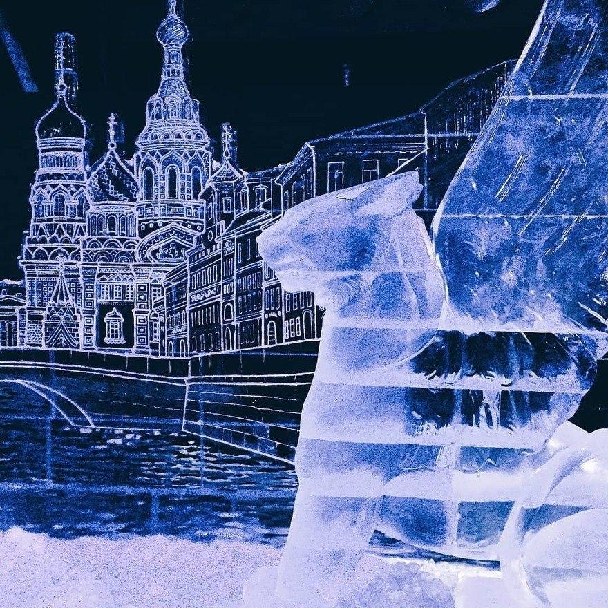 Сказочный зимний Санкт-Петербург