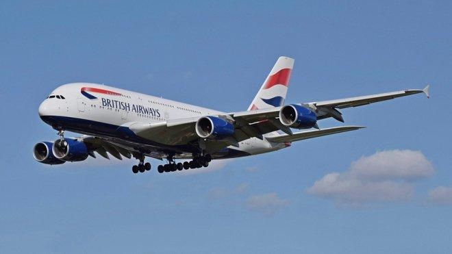 Самолет British Airways прибыл в Шотландию, вместо Германии