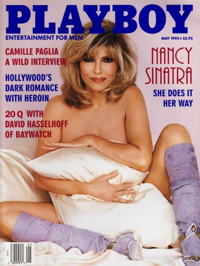 Nancy Sinatra celebrities, playboy, ностальгия
