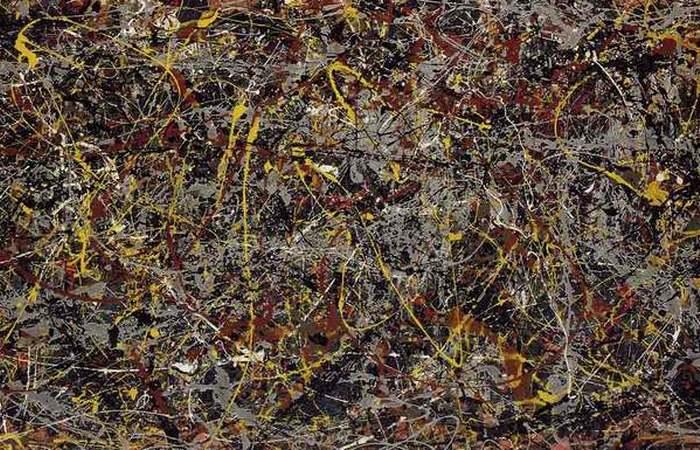 Номер 5, 1948. Картина Джексона Поллока.