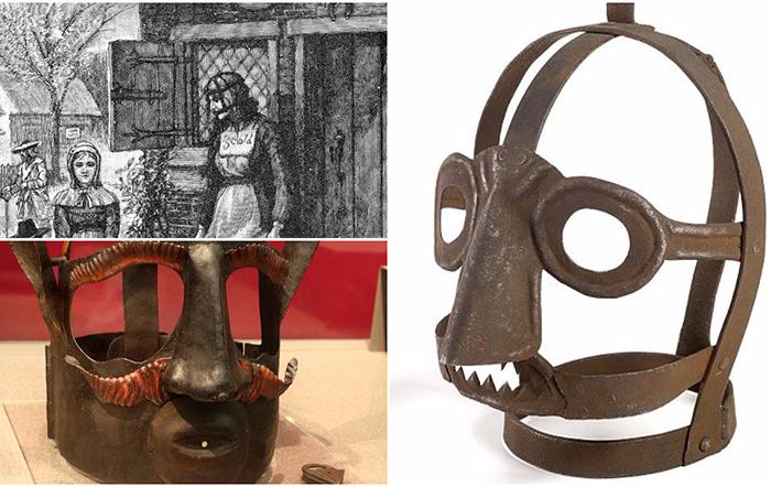 Уздечка для женщины: Зачем надевали железную маску на провинившихся дам