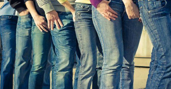 Казалось бы, что еще можно придумать с джинсами…Эта идея для очень смелых!