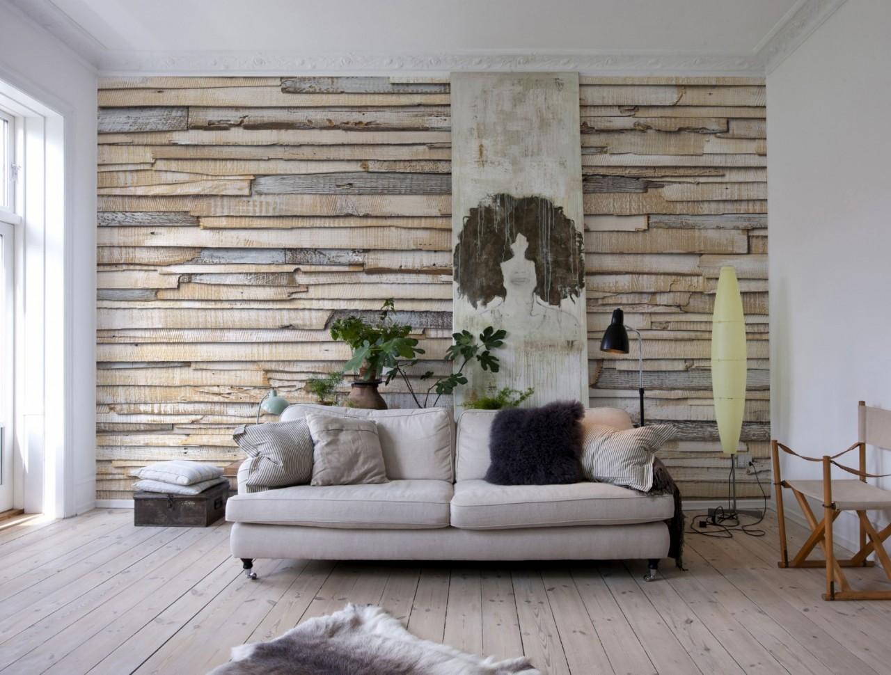 Отделка стен деревом в квартире своими руками 100